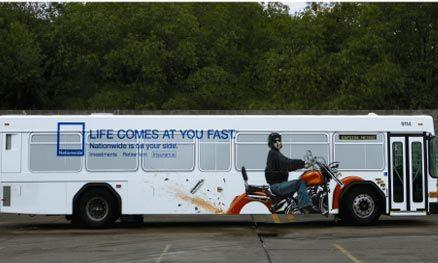 ads on buses