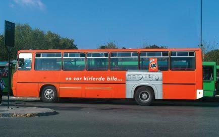 marketing on buses