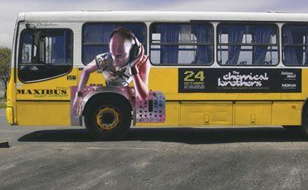 bus marketing