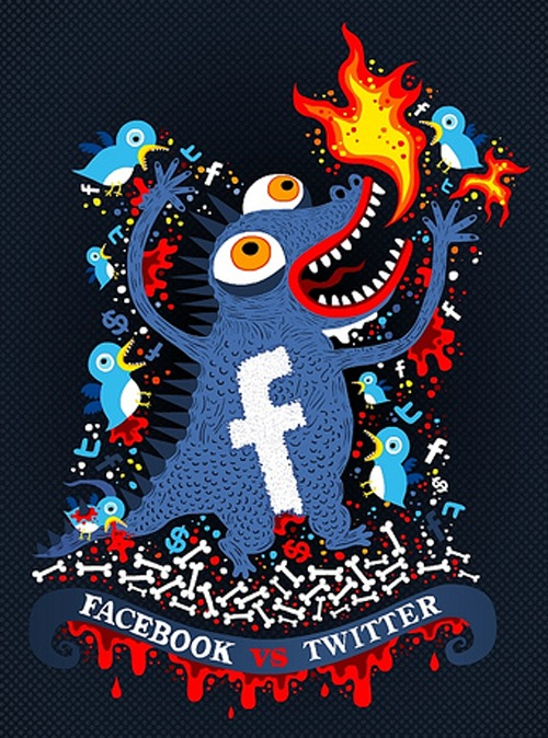 Facebook V.S Twitter