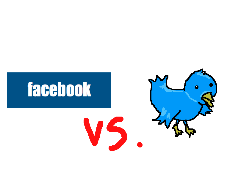 facebook vs twitter