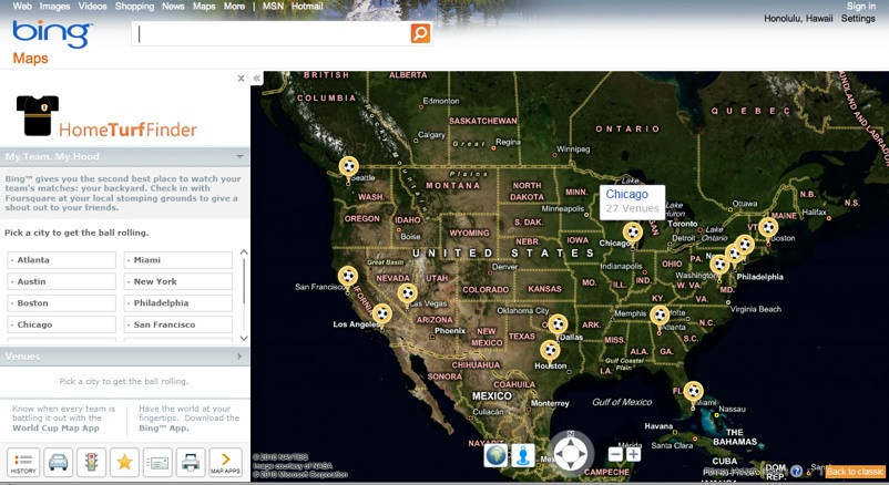 bing maps home turf finder