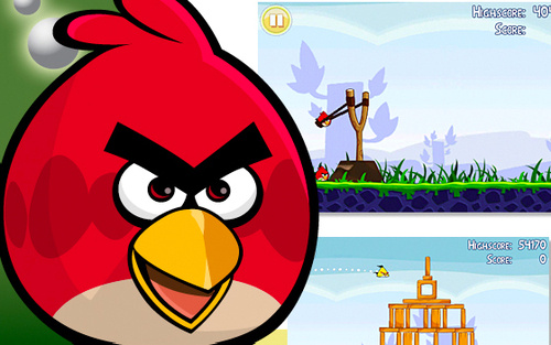 angry birds iphone apps