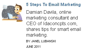 5 steps to email marketing