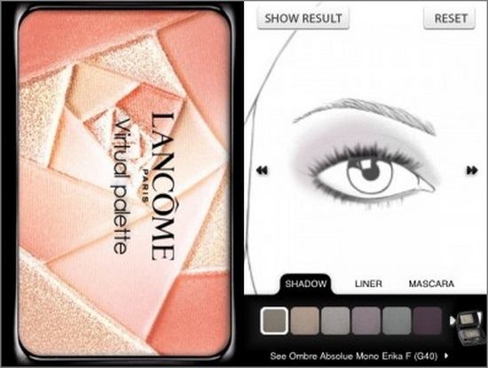 Lancome Makeup App