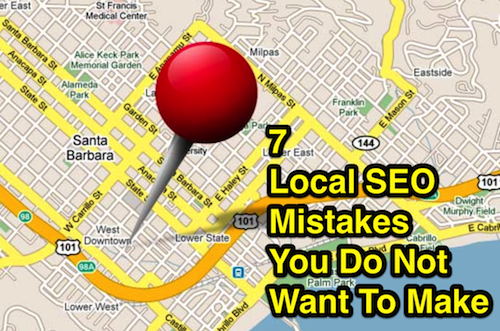 local seo mistakes