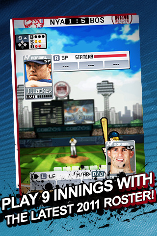9 Innings Pro Baseball 2011 screenshot