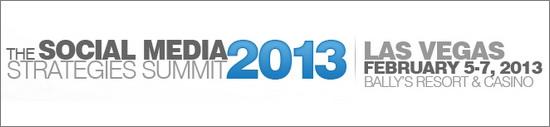 Social Media Strategies Summit 2013