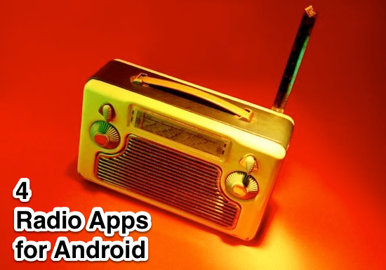 android radio apps