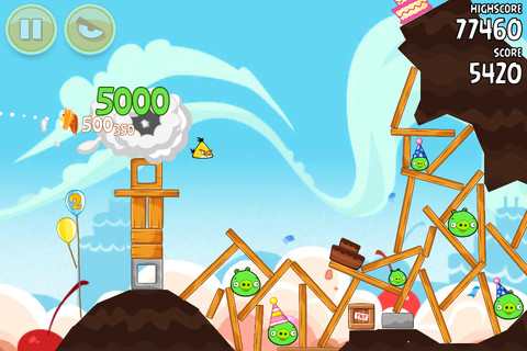angry birds iphone