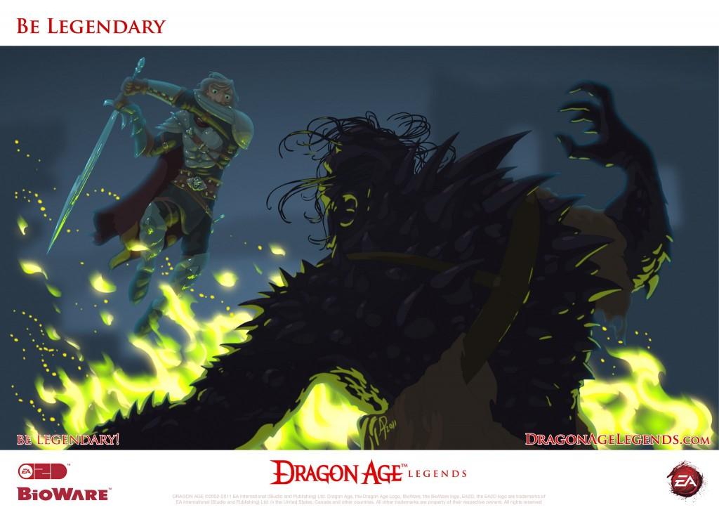 be legendary dragon age legends