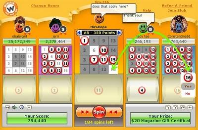 winster bingo