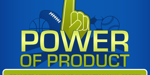 branded merchandise professional sports team infographic
