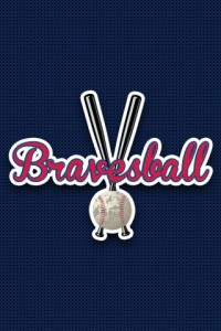braves ball iphone