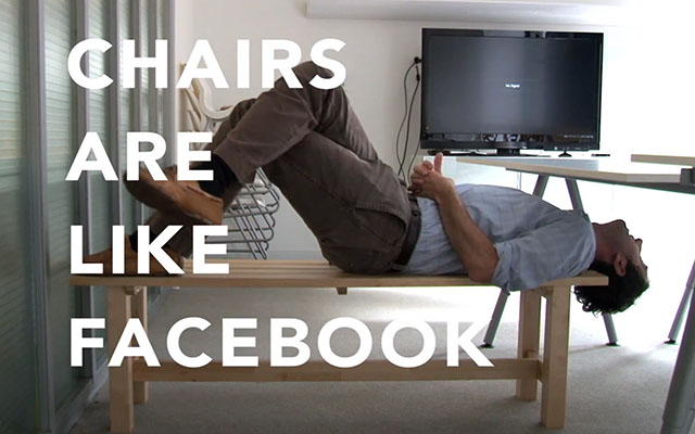facebook chairs tv spot