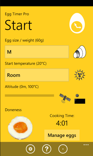egg timer pro screenshot
