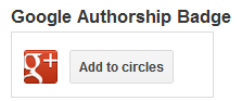 google authorship badge
