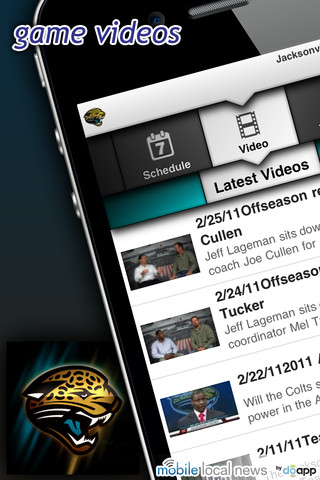 jacksonville jaguars iphone