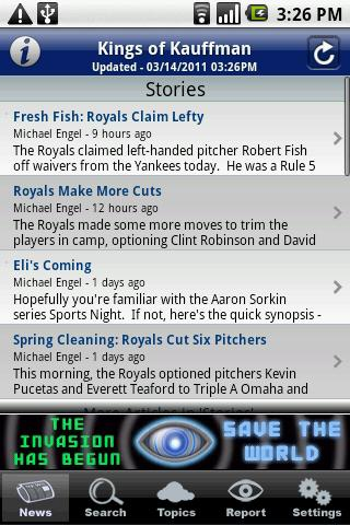 kings of kauffman android app