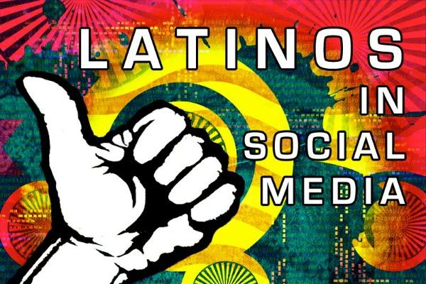 hispanics social media