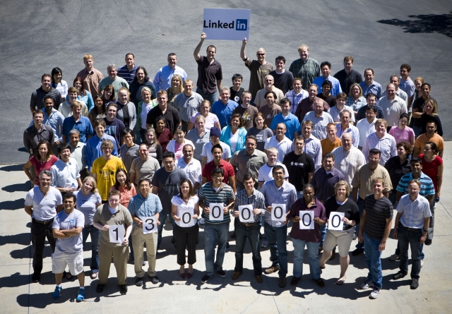 linkedin 13 million users