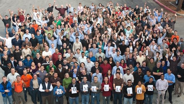 linkedin 50 million users