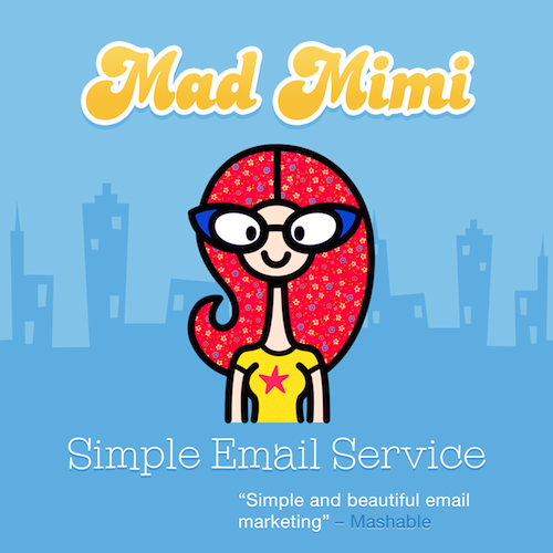 mad mimi email newsletters