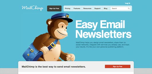 mailchimp email provider