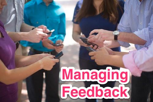 managing feedback 1