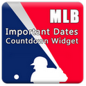 mlb countdown widget