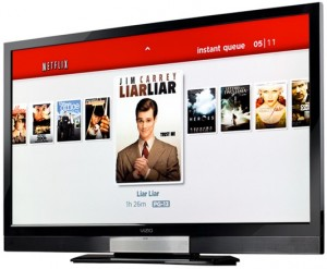 netflix vizio hdtv