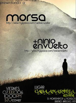 one more morsa poster