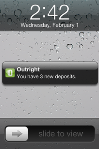 outright automatic alerts