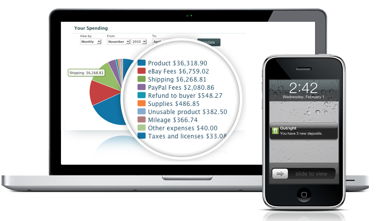outright budgeting iphone app