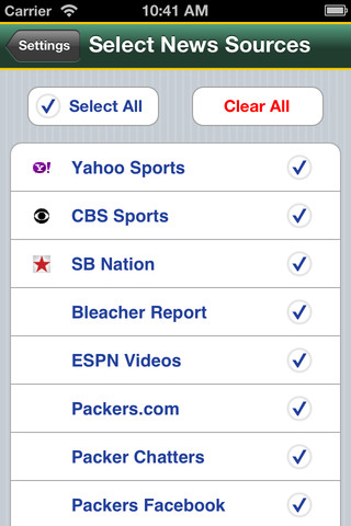 packers news iphone