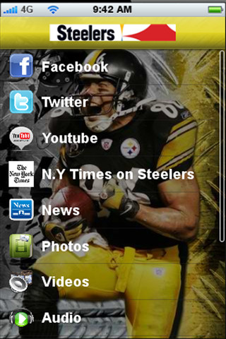 pittsburgh football iphone app