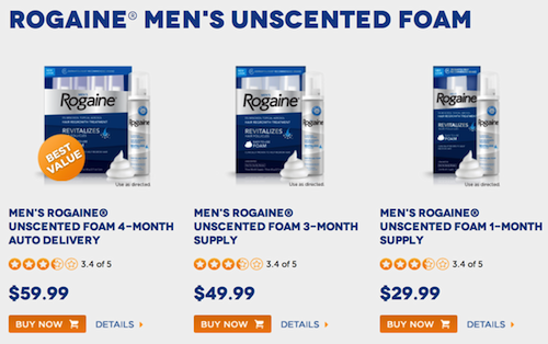 rogaine products