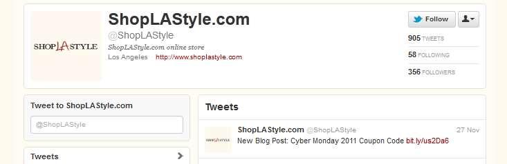 shoplastyle twitter