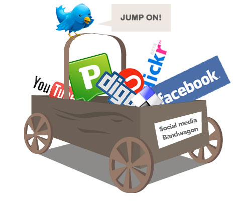 social media bandwagon