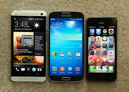 trade smartphone