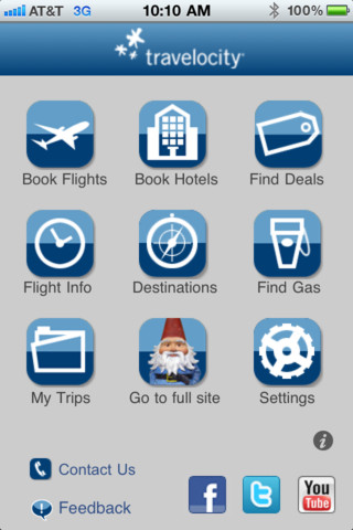 travelocity iphone app