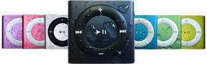 waterproof ipod shuffle colors