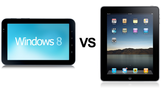 windows 8 vs ipad