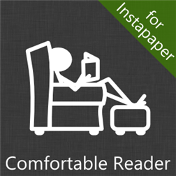 windows phone comfortable reader