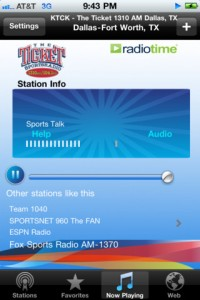 wunder radio iphone