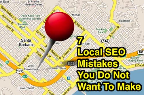 local seo mistakes