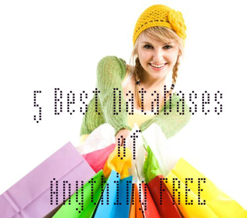 databases of anything free