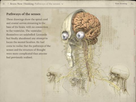 leonardo da vinci anatomy for ipad app