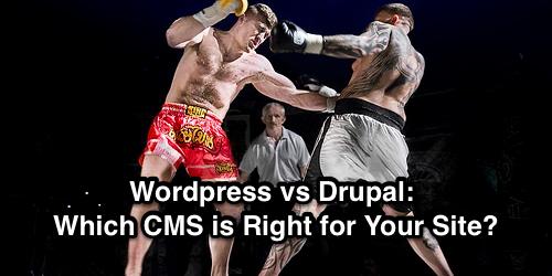 wordpress vs drupal cms
